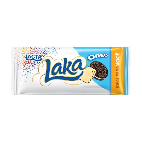 Chocolate Laka Branco Oreo 90g