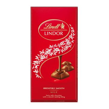 Chocolate Lindt Lindor Milk com Recheio Cremoso com 100g