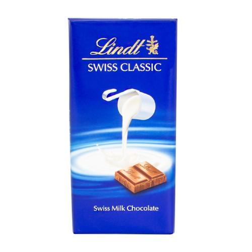 Chocolate Lindt Swiss Classic Milk com 100g
