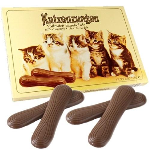 Chocolate Língua de Gato ao Leite - 100g - Sarotti