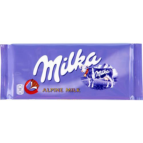 Chocolate Milka Alpine Milk 100 G