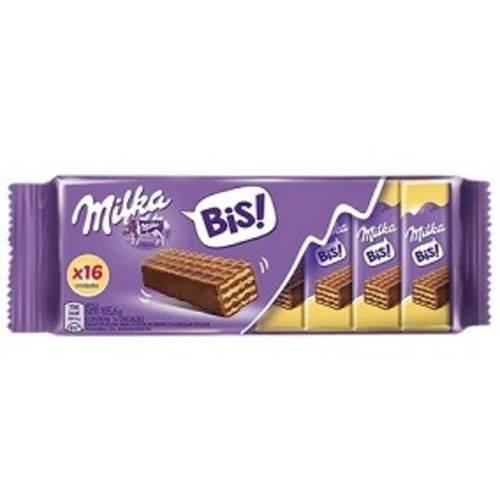 Chocolate Milka Wafer Bis - 105,6g