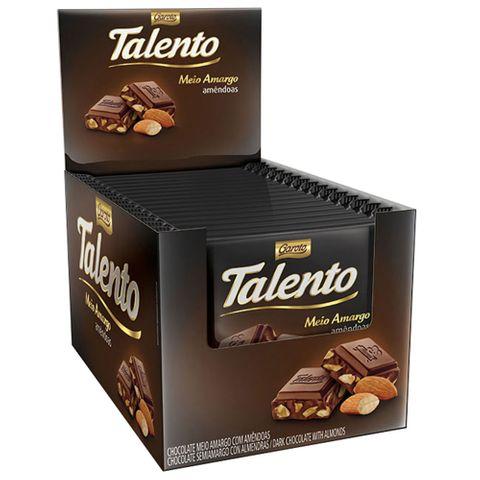 Chocolate Mini Talento Intense Amargo 15X25g - Garoto