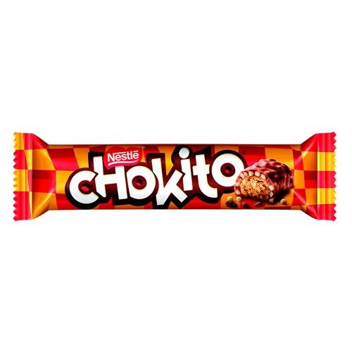 Chocolate Nestlé Chokito Bombom Recheado Coberto com Flocos e Chocolate 32g