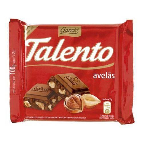 Chocolate Talento Avelas - 100gr