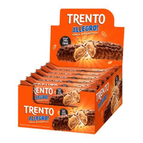 Chocolate Trento Allegro Choco Amendoim C/16 - Peccin