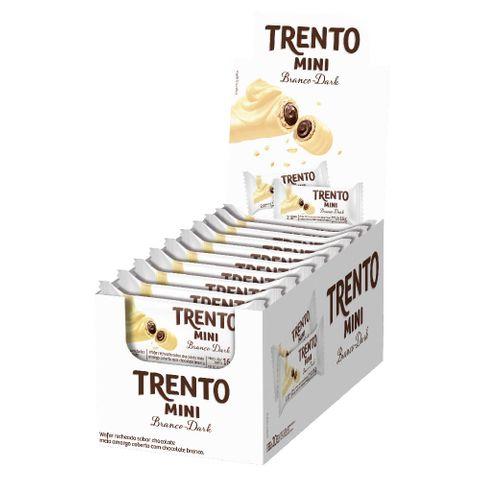 Chocolate Trento Mini Chocolate Branco Dark C/20 - Peccin