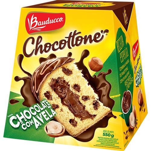 Chocottone Edição Especial Chocolate Bauducco- 550g