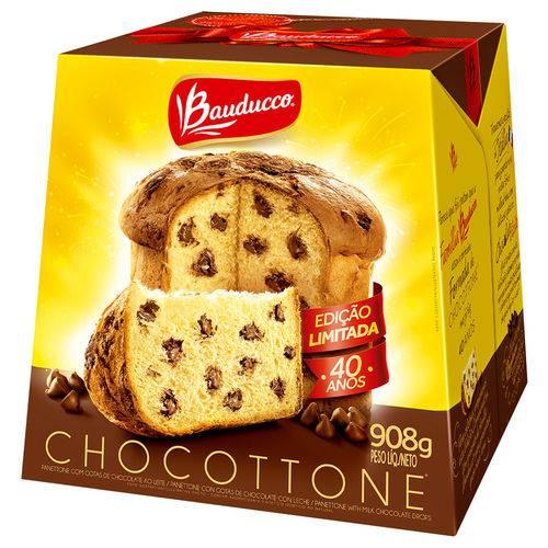 Chocottone Gotas de Chocolate 908g - Bauducco