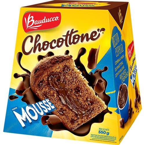 Chocottone Mousse Bauducco 550g