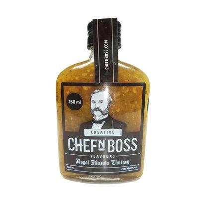 Chutney de Aipo, Cebola e Especiarias Indianas 160ml - Chefn Boss