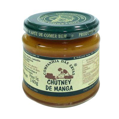 Chutney de Manga 140g - Companhia das Ervas