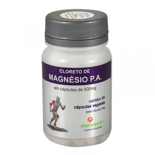 Cloreto de Magnésio PA 60 Cápsulas 500Mg- Meissen