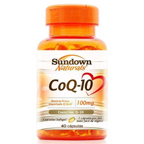 Co Q-10 Coenzima Sundown 100mg C/ 40 Cápsulas
