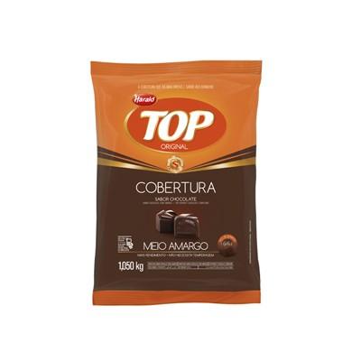 Cobertura Chocolate em Gotas Top - Meio Amargo - 1,050 Kg