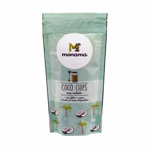 Coco Chips Monama com Melado 45g