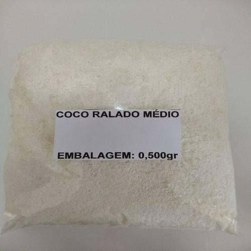 Coco Ralado Médio - Embalagem 0,500gr