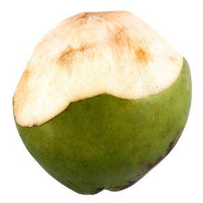 Coco Verde Cortado Unidade