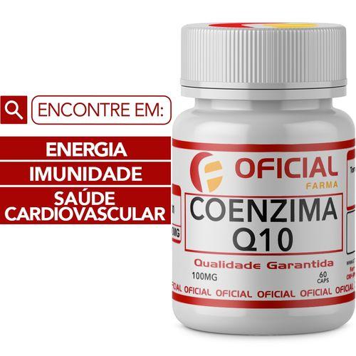Coenzima Q10 100Mg 60 Cápsulas