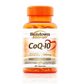 Coenzima Q10 100mg Sundown 40 Cápsulas