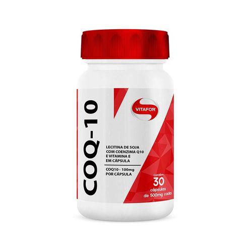 Coenzima Q10 - Vitafor - 30 Cápsulas de 500mg
