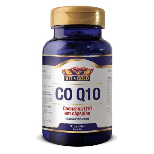 Coenzima Q10 Vitgold com 30 Cápsulas