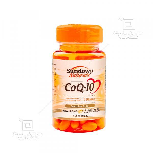 Coenzime Q-10 (100mg) 40 Cápsulas - Sundown