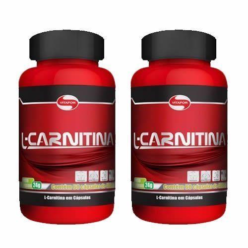 Combo 2 - L-Carnitina - 60 Cápsulas - Vitafor