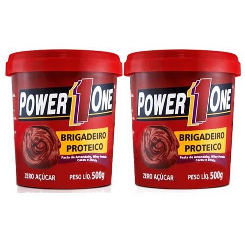 Combo Pasta de Amendoim Brigadeiro Proteico - Power One