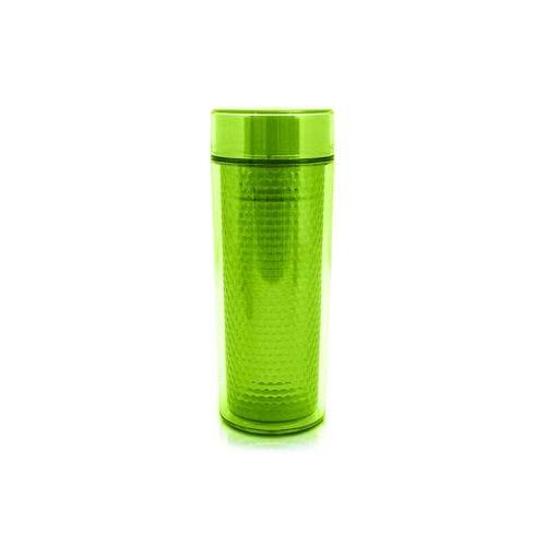 Copo Isotérmico com Tampa Jack Design 430ml Verde