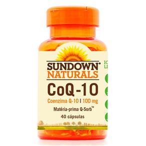 CoQ-10 Coenzima Q-10 (100mg) 40 Cápsulas - Sundown