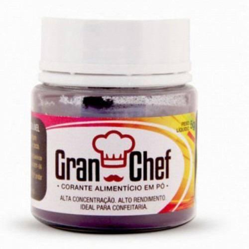Corante Gran Chef Hidrossolúvel Azul 5g