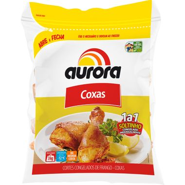 Coxa de Frango Aurora IQF 3kg