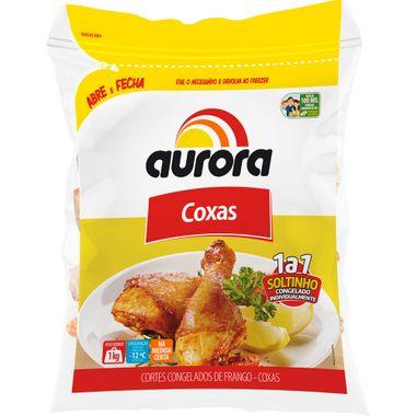 Coxa de Frango Congelado Aurora IQF 1kg