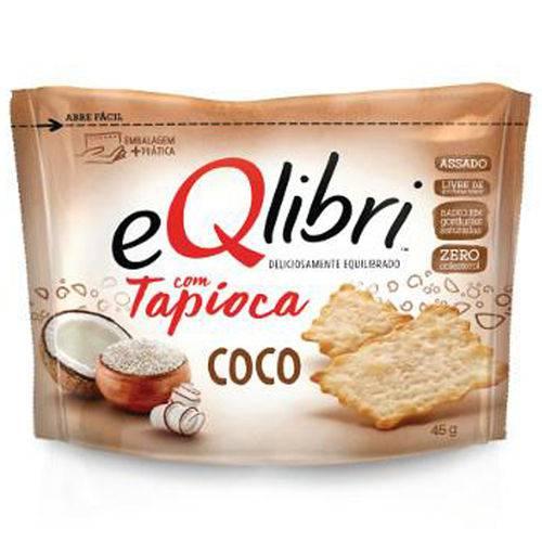Cracker Eqlibri com Tapioca e Coco 45g - Elma Chips