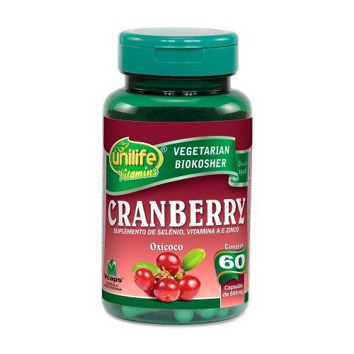 Cranberry 60 Capsulas