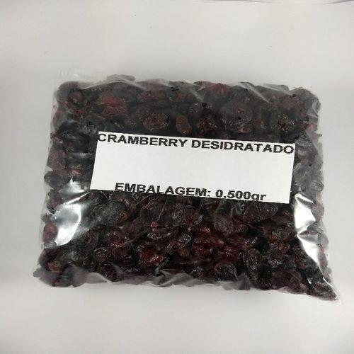Cranberry Desidratado - Embalagem 0,500gr