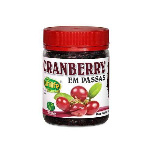 Cranberry Fruta Desidratada 150g Unilife