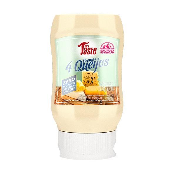 Creme 4 Queijos 235g - Mrs Taste - Mrs.taste