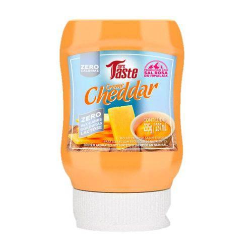 Creme Cheddar - Zero Calorias - Mrs Taste