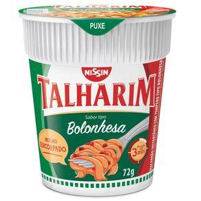 Cup Noodles Bolonhesa Nissin 72g