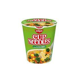 Cup Noodles de Legumes Nissin 67g
