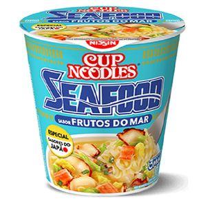 Cup Noodles Frutos do Mar Nissin 65g