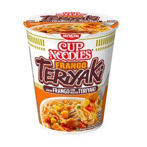 Cup Noodles Sabor Frango Teriyaki Nissin 72g