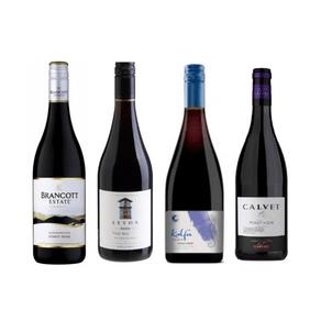 Degustação de Vinhos Uva Pinot Noir 4 Rótulos 750ml