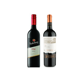 Degustação de Vinhos Uva Shiraz 2 Rótulos 750ml