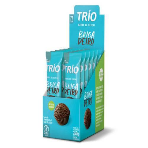 Display Barra Cereal Brigadeiro Trio 12uni 240g