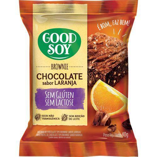 Display Brownie Goodsoy Laranja 10x40g