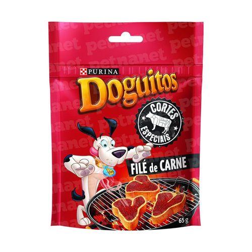 Doguitos Cortes Especiais Filé de Carne – 65g _ Purina 65g
