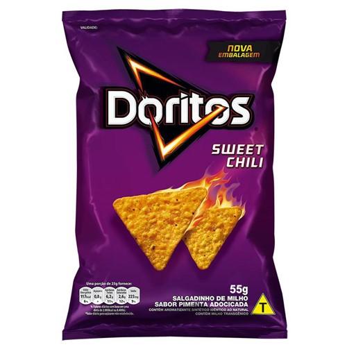 Doritos Elma Chips Sabor Sweet Chili com 55g